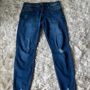 YMI jeans size 5/27 mid-rise ankle collection